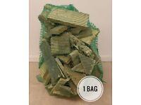 CHEAP FIREWOOD BAGS £2 each