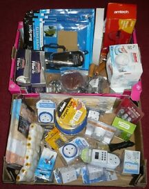 WHOLESALE JOB LOT CAR BOOT MARKET STALL *BRAND NEW ITEMS* 6 BOXES TOOLS KITCHEN HOUSEHOLD