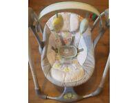 ingenuity sensor baby swing