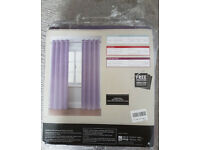NEW from NEXT eyelet dark lilac curtains 228x229
