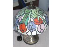 Tiffany Style Bedside / Table / Desk Lamp