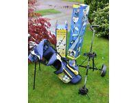 Golf Clubs - Childrens Age 9-12 - DUNLOP LOCO ***PLUS- TROLLEY***