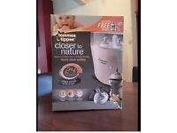 tommee tippee electric steam steriliser closer to nature boxed