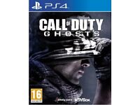 GHOSTS PS 4 GAME
