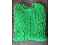 Ralph Lauren - Cable Knit - Medium - Green