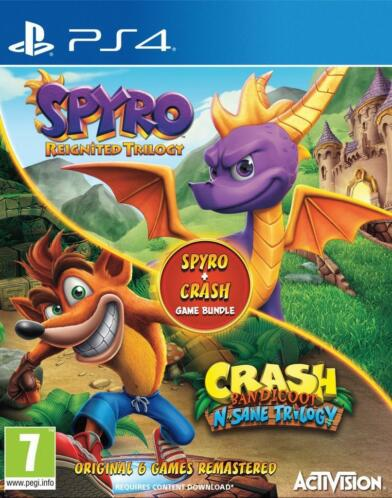 Crash & Spyro Double Pack (Playstation 4)