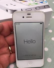 IPhone 4s unlocked to any network boxed and extremely good condition.