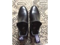 Women's Polo Club Black leather boots size 5