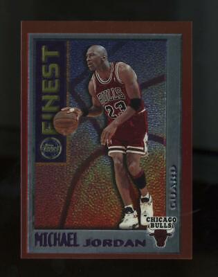 1996 Topps Finest Bordered #M1 Michael Jordan