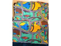 Large road themed play mat / rug