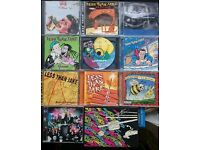10 Less Than Jake CDs - and a DVD *Collectible*