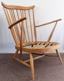 Ercol easy arm chair 359 model mid century