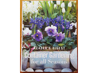 """Readers Digest """"Container Gardening for all Seasons """""""