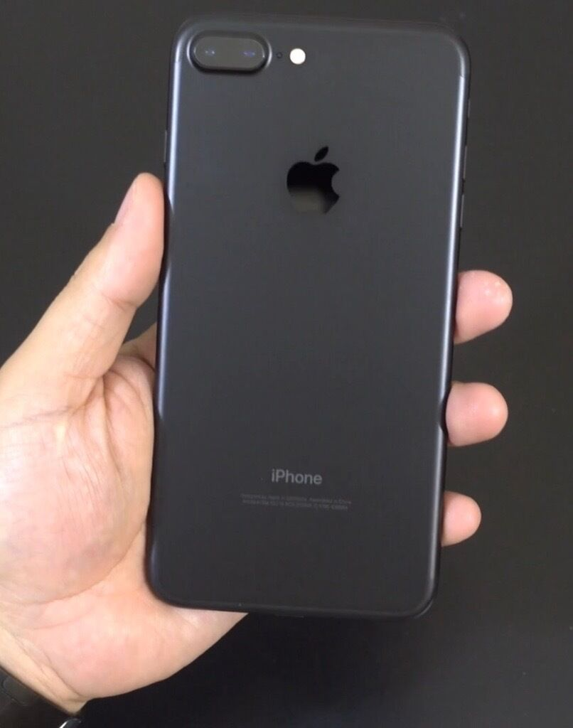 apple iphone 7 plus matt black 256gb unlocked in newry county down gumtree. Black Bedroom Furniture Sets. Home Design Ideas