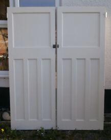 1930s original 4-panel doors