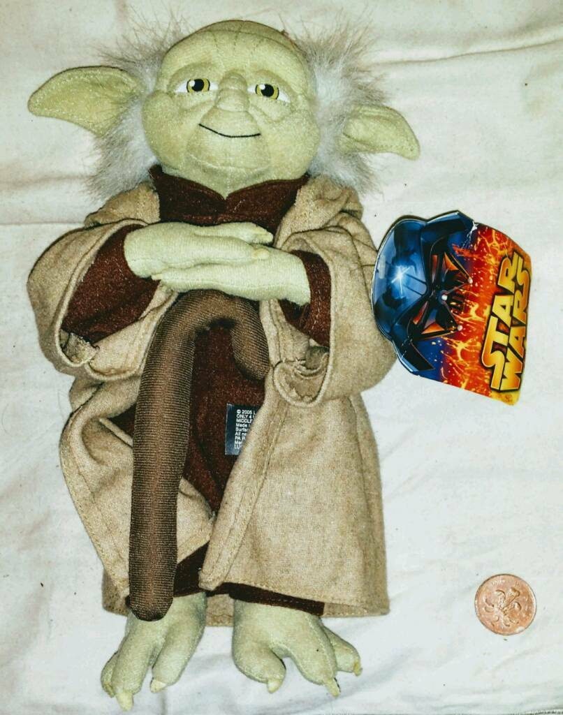 VINTAGE MASTER YODA. MINT WITH TAG. £20☺