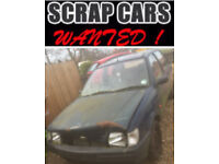 Scrap Cars Wanted (Norfolk & Suffolk)