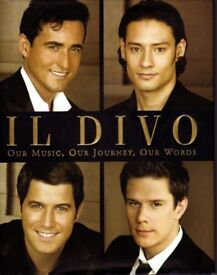 IL DIVO BOOK. AS NEW CONDITION. 186 PAGES. COST £17.99
