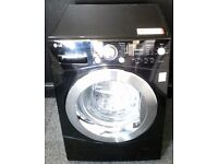 LG USED 8KG BLACK WASHING MACHINE + FREE BH ONLY POSTCODES DELIVERY, INSTALLATION&3 MONTHS GUARANTEE