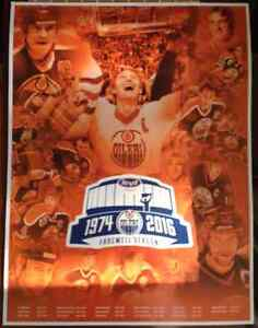 Oilers posters and lithographs