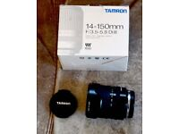 Tamron 14-150 F3.5 - 5.8 Micro Four Thirds Zoom lens for Olypus/Panasonic cameras