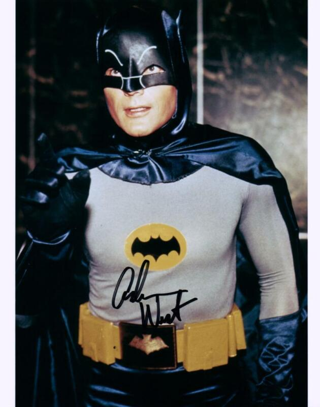 Adam West signed 8x10 Photo with COA autographed Picture very nice