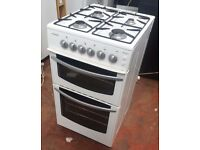 STOVES NEWHOME si500tc GAS COOKER in White with Double Oven