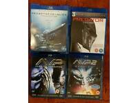 Alien and predator bluray collection