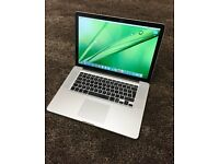 "15.4"" MacBook Pro, i5 Processor, 8GB Ram, 500GB Hard Drive, Microsoft Office, FREE DELIVERY"