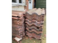 Roof tiles - red x60