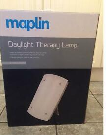 Maplin Therapy SAD Lamp. Used once. RRP £54.99