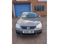 VW Golf 1.9Tdi diesel manual 2008