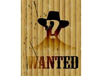 Cowboy Wanted 🤠 Male Guitar Vocalist required