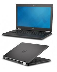 "Dell Latitude E7250 12"" Ultrabook Laptop Intel i5-5300U 2.3GHz CPU 8GB RAM 256GB SSD Webcam Windows 10 Pro COA"