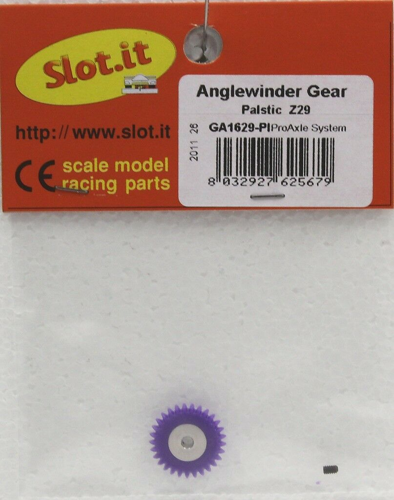 SLOT IT SIGA1629-PL 29 TOOTH ANGLEWINDER GEAR 3 32 NEW 1 32 SLOT CAR PART Toys