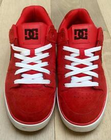 Rare Red DC Shoes