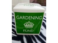 Keep Calm Gardening Fund Money Box