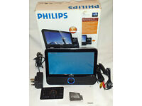 Philips DCP951 9 inch screen portable DVD player