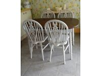 KITCHEN DINING TABLE AND 4 CHAIRS DELIVERY AVAILABLE