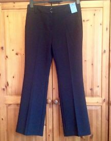 Black work trousers -size 12