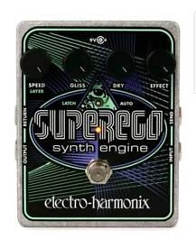 EHX SuperEgo - Guitar /Bass/Keyboard Pedal Effects - SUPERB!!!