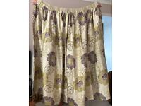 Pair of fully lined M&S curtains