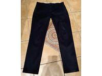 Levis 511 Chino Pants Slim Fit - Navy - W32 / L32