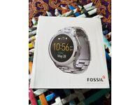 Fossil Q Founder 47mm Stainless Steel Case Link Bracelet Silver - (FTW20003P)