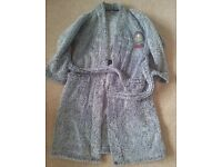 M&S marks & spencer Bart Simpson dressing gown / robe age 7-8. very good clean condition