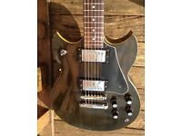 Yamaha SG-90  (1974, Black) – Little Brother of the legendary SG-175
