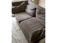 Grey sofa in good condition £50