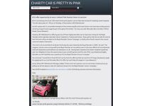 """Limited Edition Smart Fortwo car """"Pink Passion"""""""