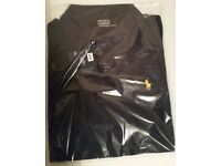 NEW RALPH LAUREN T-SHIRT - NEW WITH TAGS - NAVY COLOR - SIZE: MEDIUM