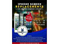 iphone screen replacement for cracked / damaged iphone screens